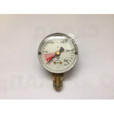 Манометр высокого давления от 0-250 бар, для редуктора