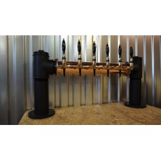 Колонна пивная стальная Hybrid