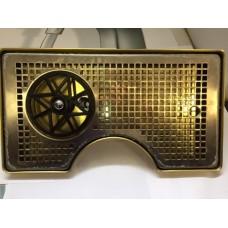 Каплесборник металл, 400х220 с вырезом под башню с омывателем