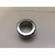 Кольцо проставка на пивной кран, хром