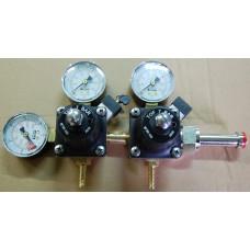 Редуктор высокого давления до 7 бар, двухблочный на 2 давления
