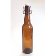 Бутылка с бугельной пробкой (темное стекло) 0,5 л.
